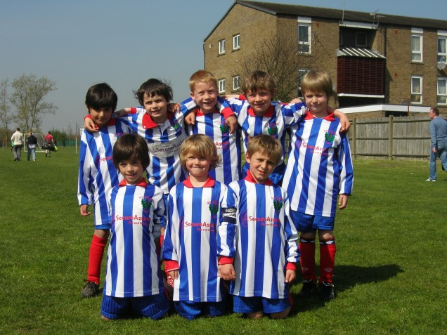 U7's before Sandgate away match (18/4/10)