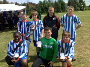 Runners up squad